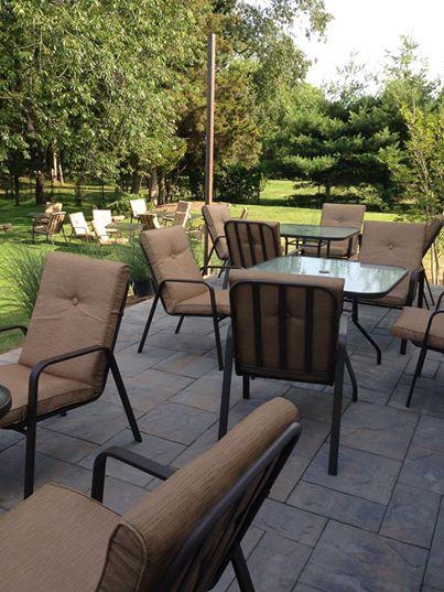 Cedars patio