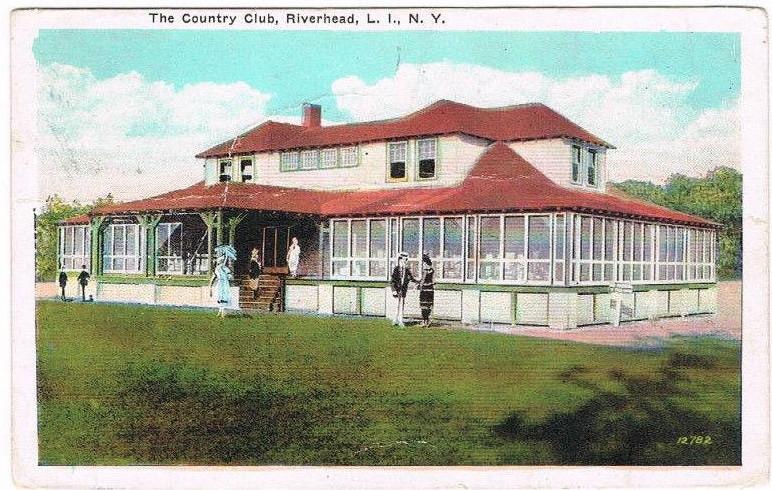 Elks on postcard - 1920_